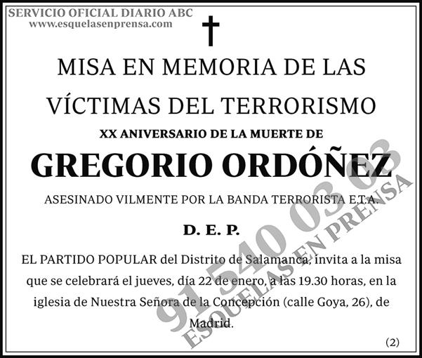 Gregorio Ordóñez